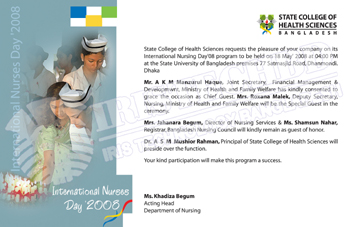Nurses Day Invitation